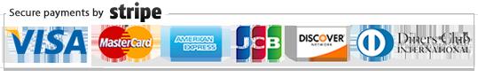 Al-Bir - stripe credit card logos